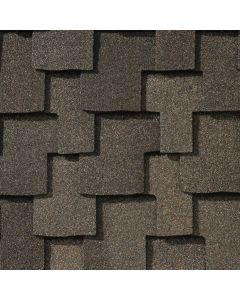 GAF Grand Sequoia 0650900 Premium Roof Shingles 20 sq ft Weathered Wood