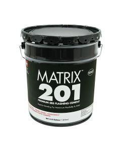 GAF 415E Matrix 201 Premium SBS Flashing Cement 5 gallon