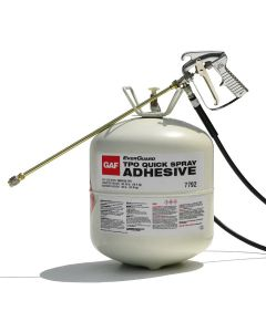 GAF 7792 EverGuard TPO Quick Spray Adhesive Cylinder 10sq