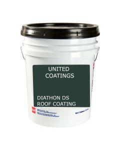GAF 8901 Diathon DS Roof Coating 5 gallon Black