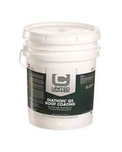 GAF 8901 Diathon QS Roof Coating 5 gallon White