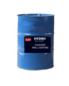 GAF 8902 HydroStop Flexcoat Wall Coating 54 gallon