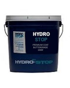 GAF 890221419 HydroStop PremiumCoat Butter Grade Flash 2gal Gray