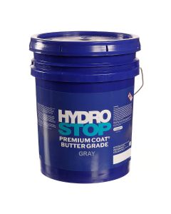 GAF 890222419 HydroStop PremiumCoat Butter Grade Flash 5gal Gray