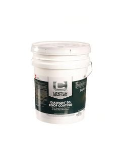 GAF 8907 Diathon DS Roof Coating 5 gallon White