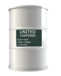 GAF 8907 Roof Mate Spray Grade Flashing 54 gallon White