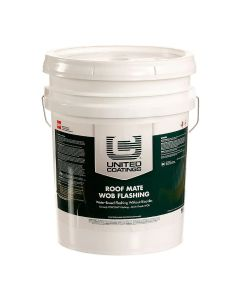 GAF 8907 Roof Mate WOB Flashing 5 gallon White