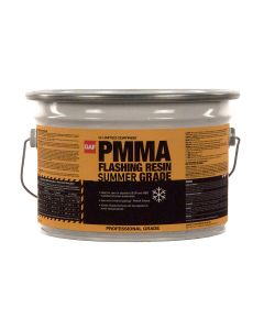 GAF 891173000 PMMA Flashing Resin Summer 2 gallon White