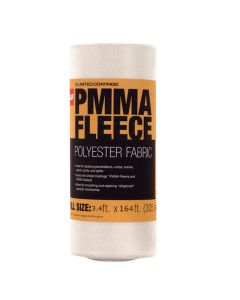 GAF 891176000 PMMA Fleece Polyester Fabric 3.4'x164' 30 Rolls/Pallet