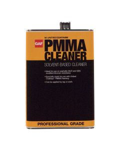 GAF 891180000 PMMA Cleaner Solvent-Based 1 gallon 180 Pails/pallet