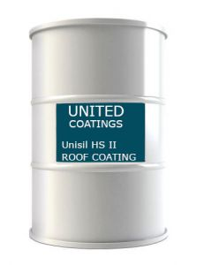 GAF 8912 Unisil HS II Roof Coating 50 gallon White