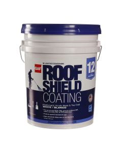 GAF 891237920 Roofshield Coating 5 gallon White