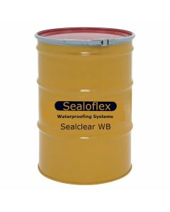 GAF 892340000 Sealoflex Sealclear Wall Coating 55 gallon Clear