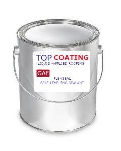 GAF 8939920WP FlexSeal Self-Leveling Sealant 1 gallon White