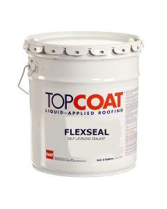 GAF 8940920WP FlexSeal Self-Leveling Sealant 5 gallon White