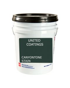 GAF 8901 CanyonTone Stain 5 gallon Black
