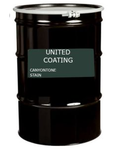 GAF 8912 CanyonTone Stain 55 gallon Black