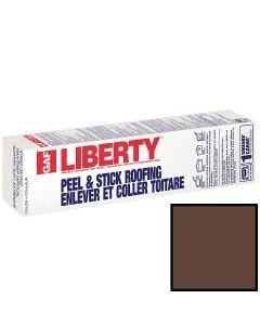 GAF Liberty SBS Self-Adhering Cap Sheet Hickory 100 sq ft
