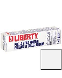 GAF Liberty SBS Self-Adhering Cap Sheet White 100 sq ft