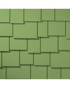 "James Hardie HardieShingle Fiber Cement Staggered Siding 15.25""x48"" Heathered Moss 1pc"