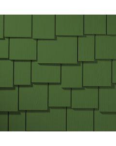 "James Hardie HardieShingle Fiber Cement Staggered Siding 15.25""x48"" Mountain Sage 1pc"
