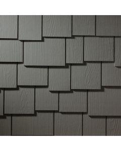 "James Hardie HardieShingle Fiber Cement Staggered Siding 15.25""x48"" Rich Espresso 1pc"