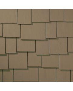 "James Hardie HardieShingle Fiber Cement Staggered Siding 15.25""x48"" Woodstock Brown 1pc"
