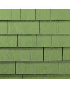 "James Hardie HardieShingle Fiber Cement Straight Siding 15.25""x48"" Heathered Moss 1pc"