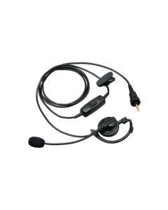 Kenwood KHS37W Two Way Radio Hanger Earpiece Mic PTT Button NXP500K