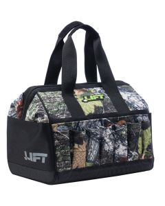 "LIFT ACW15C Wide Open Tool Bag Polyester 12"" Gatemouth Camo"