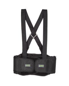 LIFT BSH6KM Stretch Belt Adjustable Support Medium Black