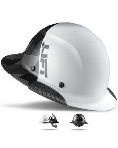 LIFT DAX Carbon Fiber Fifty50 Hard Hat Full Brim Black Camo