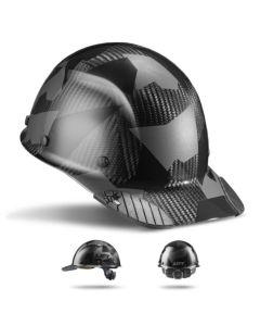 LIFT DAX Carbon Fiber Hard Hat Cap Brim Black Camo