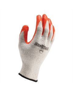 LIFT G15MCLW1L Latex Palm Mixed Fiber Knit Glove XL White 12ct