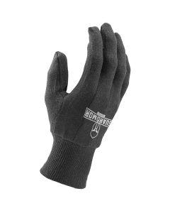 LIFT G15PK7BM Cotton Utility Glove Medium Brown 12ct