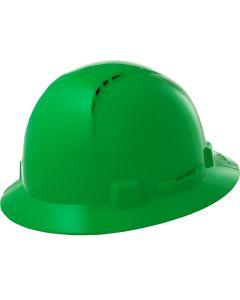 LIFT HBFC7G Briggs Full Brim Vented Hard Hat Green