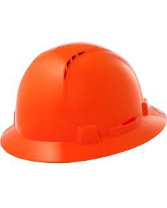 LIFT HBFC7O Briggs Full Brim Vented Hard Hat Orange