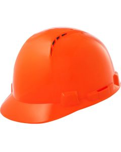LIFT HBSC7O Briggs Short Brim Vented Hard Hat Orange