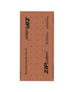"Huber ZIP System Sheathing 4'x8' 5/8"" Sienna"