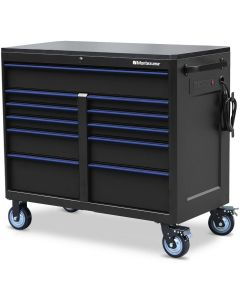 "Montezuma BKM462411TC 11 Drawer Tool Cabinet 46""x24"""