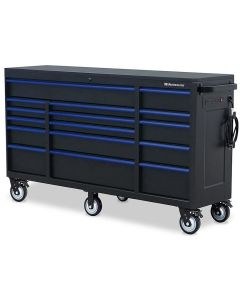 "Montezuma BKM722016TC 16 Drawer Tool Cabinet 72""x20"""