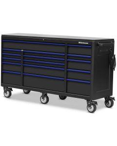 "Montezuma BKM722416TC 16 Drawer Tool Cabinet 72""x24"""
