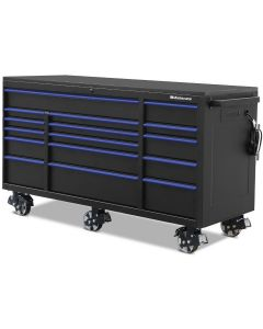 "Montezuma BKM723016TC 16 Drawer Tool Cabinet 72""x30"""