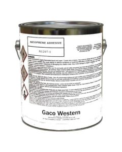 Gaco N1207 Neoprene Adhesive Low VOC 1 Gallon