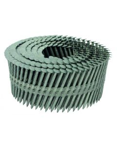 """ET&F Panelfast AGS-100 Coil Nails Knurled Pin 2-1/2"""" Case 3000"""