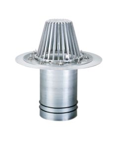 "OMG ALDCR8A O-Ring Aluminum RetroDrain 8"""