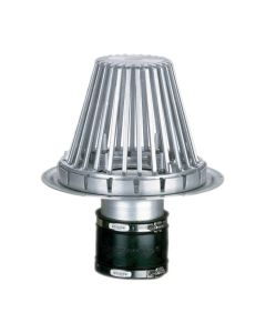 """OMG CDAL4SD OlyFlow Aluminum New Connection Drain SuperDome 4"""""""