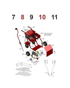 OMG OBPC3-SWITCHKIT OlyBond PaceCart3 Pressure Switch Kit