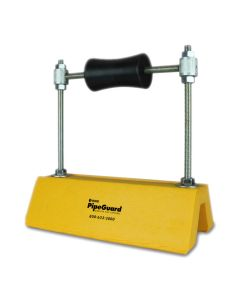 """OMG PGSTPE10X10HAR-YW PipeGuard Height Adjustable Strut Model Roller 10"""" Yellow 5ct"""