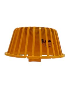 "OMG VTBSTR10-YW Hercules Strainer Dome Vortex Breaker 10"" Yellow"
